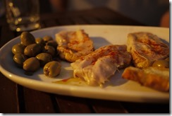 Olives and pollo - Spain Andalusia