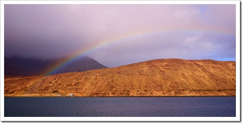 Rainbows on the Isle of Skye, Scotland