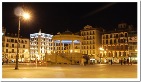 Plaza Major Pamplona Spain