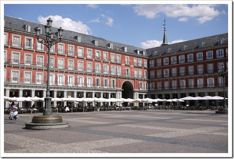Plaza Major, Madrid, Spain