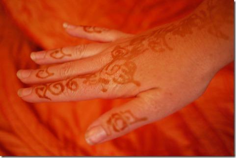 Henna attack, Djemaa el-Fna , Marrakech Morocco