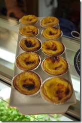 Tarts in Lisbon, Portugal