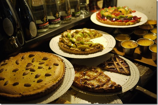 Italian desserts Florence Tuscany Italy