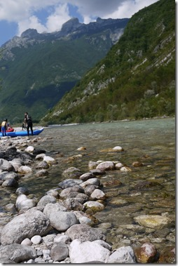 Rafting in River Soca, Triglav National Park, Bled, Slovenia