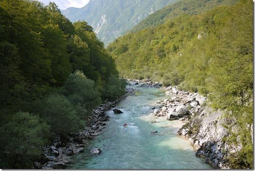 River Soca, Triglav National Park, Bled, Slovenia