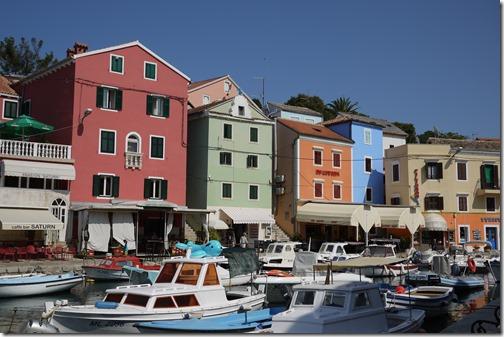 Vali Lošinj on Lošinj Island, Croatia