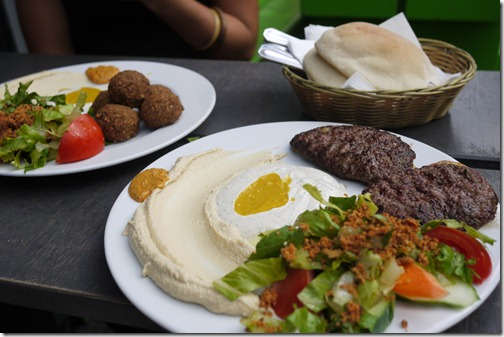 Falafel in Kreuzberg, Berlin
