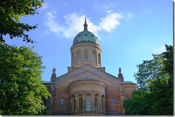 Church dome in Berlin