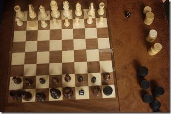 Berlin Cafe - chess board