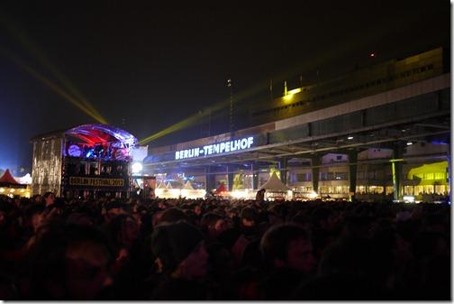 Tempelhof - dancing on the runway - Berlin Festival 2012