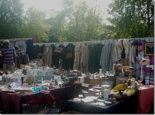 Mauerpark Flea Market on Sundays