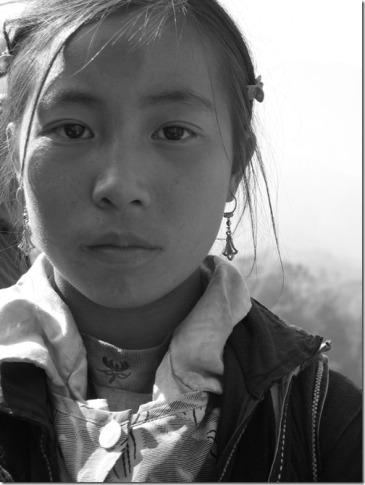 Sapa Hmong Girl Vietnam