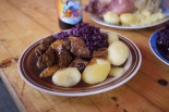 Goulash and sauerkraut in Berlin