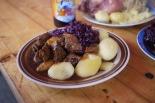 Goulash and sauerkraut in Berlin