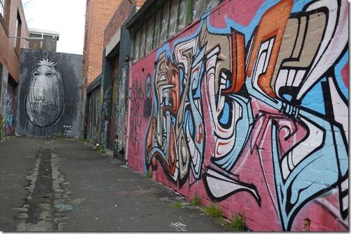 Graffiti street art Melbourne