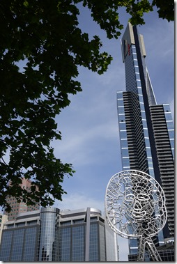 Melbourne CBD and public art