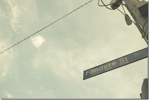 Flinders Street Melbourne CBD