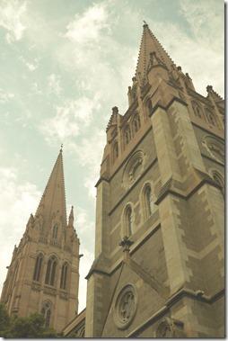 Historical buildings in Melbourne CBD