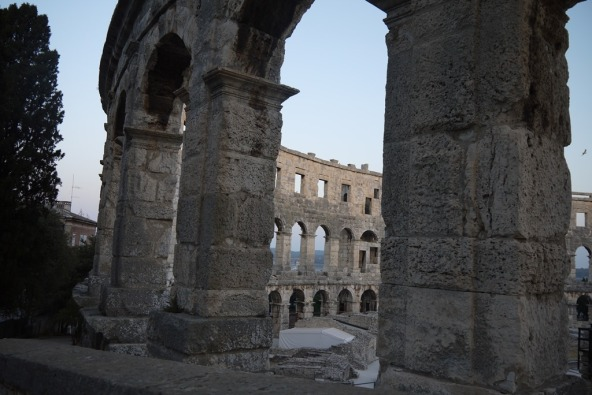 Pula Roman ampitheatre