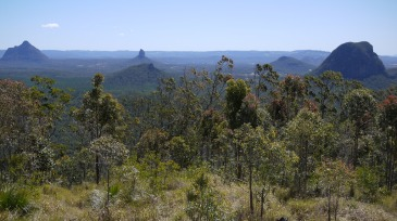 Glasshouse Mountain bushwalks close to Brisbane Queensland