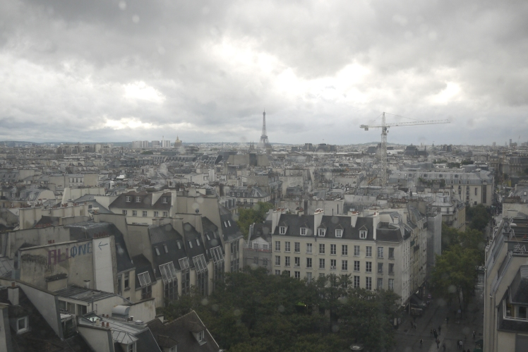 Paris from Centre Pompidou
