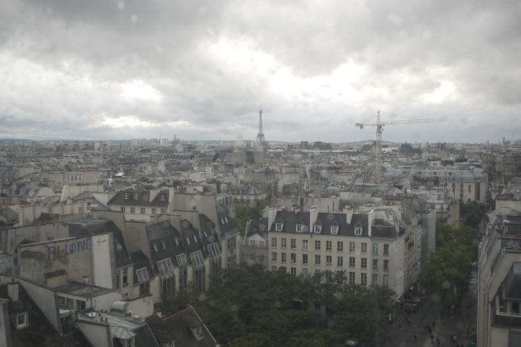 Paris from Centre Pompidou