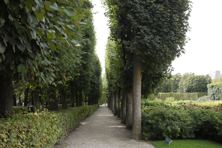 Gardens at Museum Rodin