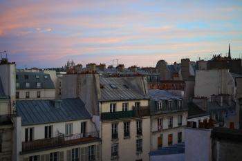 Paris summer evening