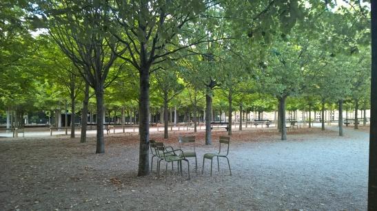 jardin du luxembourg Paris chairs