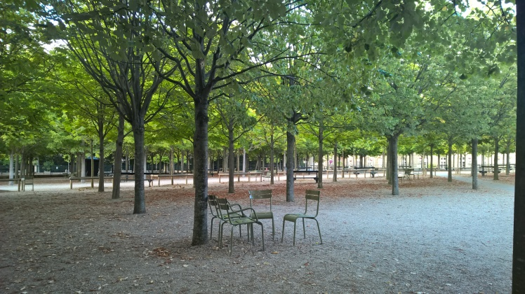 jardin du luxembourg Paris chairs