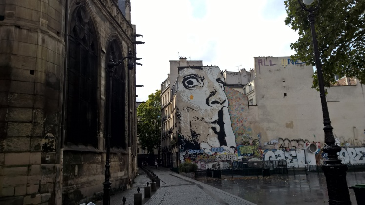 Street art Centre Pompidou Paris